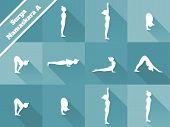 stock photo of surya  - Yoga - JPG