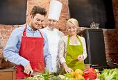 foto of chef knife  - cooking class - JPG