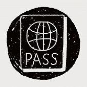 pic of passport cover  - Doodle Passport - JPG