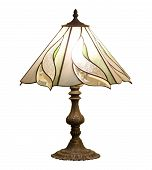 picture of lamp shade  - table lamp isolated on white background with clipping path - JPG