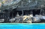 stock photo of viking  - Viking cave where bird - JPG