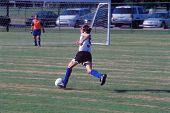 Junior Girl Soccer  - Going For A Goal