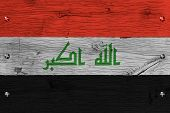 image of iraq  - Iraq national flag - JPG