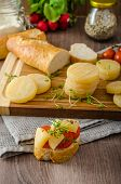 foto of smelly  - Czech smelly cheese  - JPG