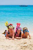 Snorkeling Kids