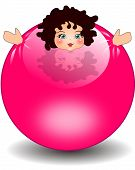 baby in ball