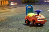 Abandoned Toy Car. poster