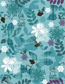 Vektor Little Juliet trifft Hamlet (Seamless Pattern)