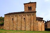 Igreja de San Caprasio ermita eremitério santa Cruz Seros Huesca Espanha