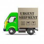 Urgent Shipmant Delivery Truck