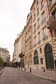 Cobblestone Road in Paris