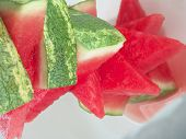 Seedless Watermelon Pieces Stack