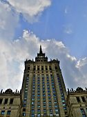 Palace Of Culture And Science Warsaw poster