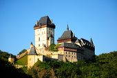 Panorama of the Karlstejn Castle