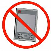 Pda With Not Allowed Symbol