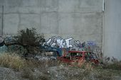 Graffiti, Waste, Abadoned Cars