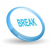 Break. Vector icon.