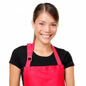 foto of apron  - Small business owner portrait - JPG