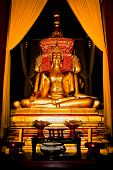 Monuments Of Four Buddah