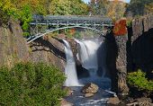 die Great Falls in Paterson, New Jersey