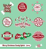 Christmas Candy Labels and Icons