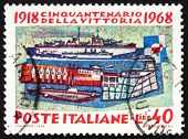 Postage stamp Italy 1968 TheNavy