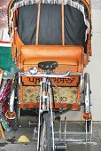 picture of rickshaw  - rickshaw  - JPG