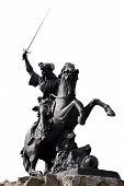 Horseman fighter Sculpture
