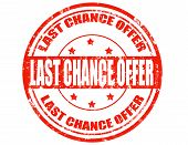 Last Chance Offer-stamp