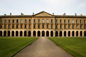 stock photo of magdalene  - One of the beautiful buildings comprising Magdalen College - JPG