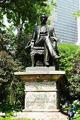 William H. Seward statue at  Madison Square Park
