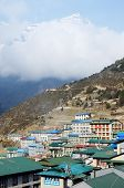 Namche Bazaar Village View - Capital Of Sherpa People ,sagarmatha National Park, Nepal