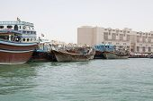 Dhows At Dubai Creek