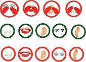 Universal  Senses Symbols..