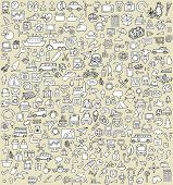 picture of xxl  - XXL Doodle Icons Set No - JPG