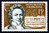 Postage Stamp France 1957 Louis Jacques Thenard, Chemist