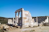 Temple Of Demeter, Naxos Island, Greece
