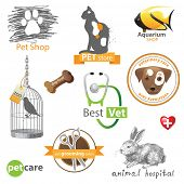 picture of dog tracks  - Pets icons and design elements - JPG