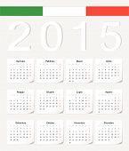 Italian 2015 Calendar