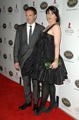 Jonny Lee Miller and Michele Hicks  at the 5th Annual Runway For Life Gala Benefitting St. Jude Childrens Hostpital. Beverly Hilton Hotel, Beverly Hills, CA. 10-11-08