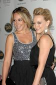 Haylie Duff and Hilary Duff   at the 5th Annual Runway For Life Gala Benefitting St. Jude Childrens Hostpital. Beverly Hilton Hotel, Beverly Hills, CA. 10-11-08