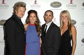 Andrew Grush and Kerri Kasem with Mike Kasem and Amy Godsey  at the 5th Annual Runway For Life Gala Benefitting St. Jude Childrens Hostpital. Beverly Hilton Hotel, Beverly Hills, CA. 10-11-08