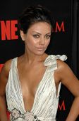 Mila Kunis  at the Los Angeles Premiere of 'Max Payne'. Grauman's Chinese Theatre, Hollywood, CA. 10