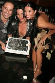Tal Sheyn and CC Fontana  at the Birthday and Viewing Party for Fashion Designer Tal Sheyn, sponsored by Shoes for the Stars and Shoe String Ent., 24 Carat, West Hollywood, CA. 10-18-08