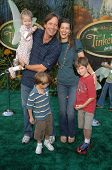 Kevin Sorbo with Sam Jenkins and family  at the Premiere Screening of Disney's 'Tinker Bell' DVD. El Capitan Theatre, Hollywood, CA. 10-19-08