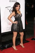 Francia Raisa  at the Los Angeles Premiere of 'Zack and Miri make a porno'. Grauman's Chinese Theate