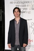 Justin Long  at the Los Angeles Premiere of 'Zack and Miri make a porno'. Grauman's Chinese Theater,