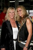 Marilyn Chambers and Meghan Noon  at the Girls and Corpses Hallowe'en Party and Autograph Signing, M