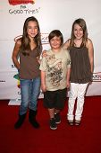 Taylor Atelian with Conner Rayburn and Billi Bruno  at Camp Ronald McDonald's 16th Annual Family Hal