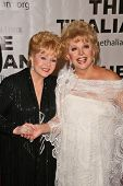 Debbie Reynolds and Ruta Lee  at the Thalians 53rd Anniversary Ball, honoring Clint Eastwood, to benefit  Cedars-Sinai Medical Center, Beverly Hilton Hotel, Beverly Hills, CA. 11-02-08